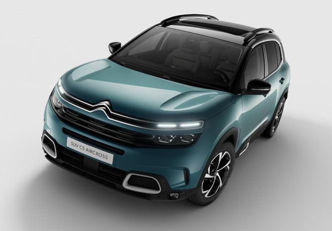 Nuevo SUV Citroën C5 Aircross: Una personalidad única en el segmento.