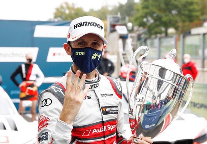DTM en Zolder – Carrera 4: René Rast acaparó todo.