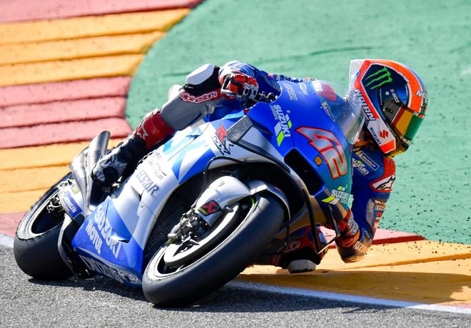MotoGP en Motorland Aragón – Carrera 1: Rins conquista la victoria y Mir es nuevo líder.
