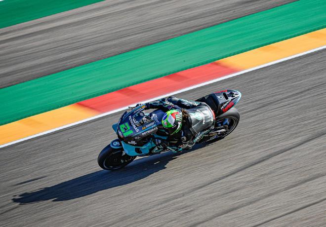 Franco Morbidelli gana el Gran Premio de Teruel.