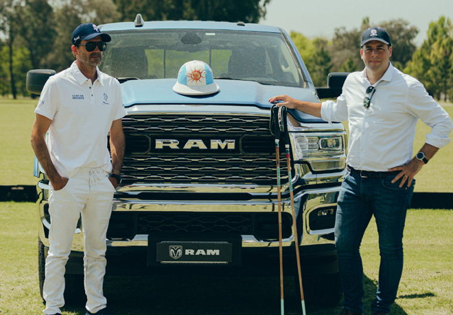 RAM es sponsor oficial de la Dolfina Polo Team.