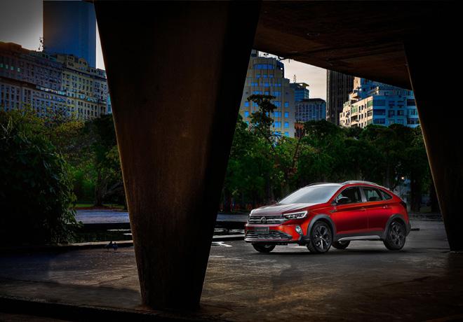 Volkswagen exhibe Nivus por primera vez en formato Pop ups stores por el país.
