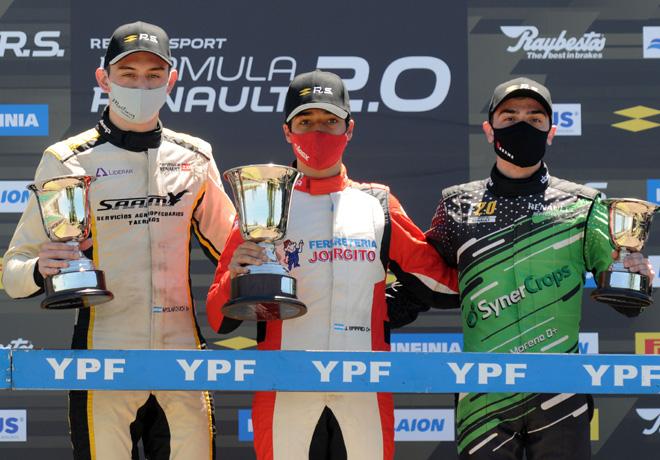 Fórmula 2.0 by Renault en Paraná – Carrera 2: Tercer triunfo de Jorge Barrio que le permite liderar el campeonato.