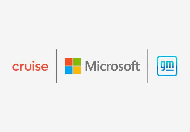 Cruise y GM se unen con Microsoft para comercializar vehículos autónomos.