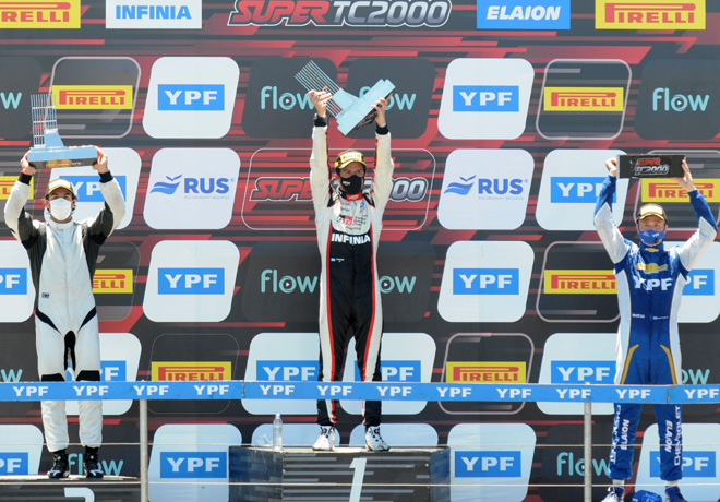 Super TC2000 en Paraná – Carrera: Victoria de Rossi que lo acerca al campeonato.