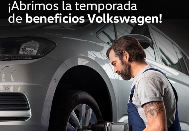 Volkswagen ofrece una verificación integral gratuita.