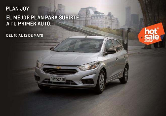 Chevrolet participará del evento digital de promociones Hot Sale con descuentos exclusivos.