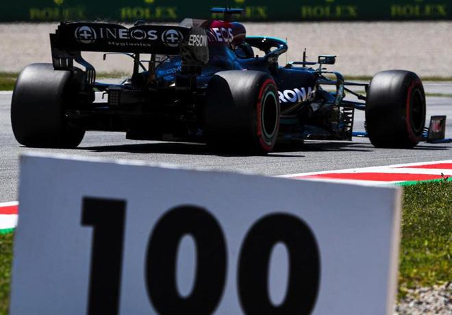 GP de España de Fórmula 1 – Clasificación: Lewis Hamilton consigue en Catalunya su Pole Position número 100.