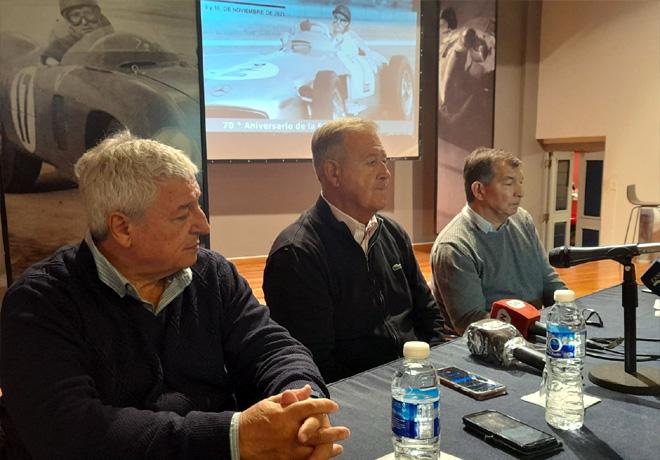 En Balcarce se prepara el traslado de los restos de Juan Manuel Fangio al Museo.