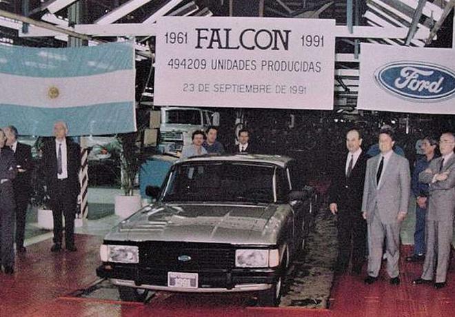 Hace 30 años nacía el último Falcon en la Argentina.