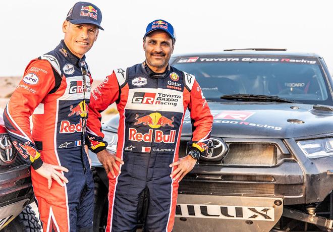 Toyota Gazoo Racing participará en el próximo Rally Dakar.