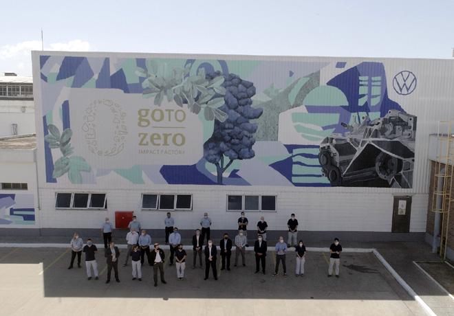 Volkswagen Group Argentina celebró la iniciativa global, goTozero week.