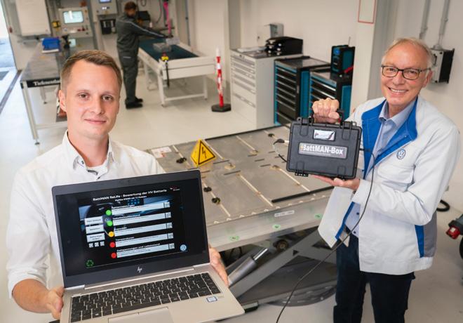 BattMAN ReLife: Audi participa en la reutilización de baterías.