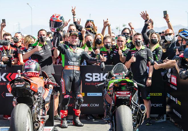 Los lubricantes ELF Moto llegaron al podio del World Superbike en San Juan.